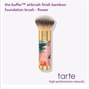 Tarte limited edition floral brush